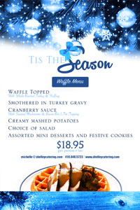 Tis The Season Menu